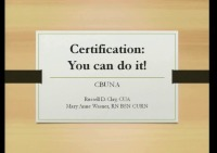 Certification Review Course for the Associate