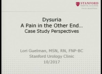 Dysuria: A Burning Dilemma…A Case Study Perspective